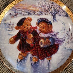 """Bradford Exchange """"A Moment to Treasure"""" Plate"""